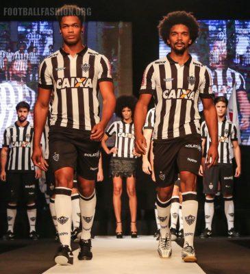Atlético Mineiro 2017 2018 Topper Home and Away Soccer Jersey, Football Shirt, Kit, Camisa