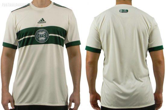 Coritiba 2017 2018 adidas Home Soccer Jersey, Shirt, Football Kit, Camisa I
