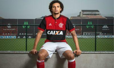 CR Flamengo 2017 2018 adidas Home Football Kit, Soccer Jersey, Shirt, Camisa, Camiseta