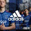 AFC Ajax Amsterdam 2017 2018 adidas Away Football Kit, Soccer Jersey, Shirt, Uitshirt, Uittenue