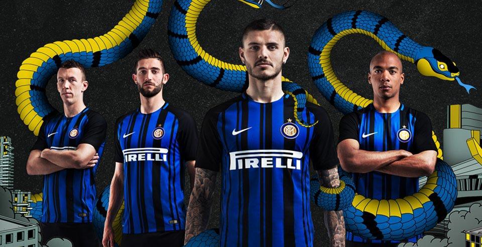Inter Milan 2017/18 Nike Home Kit - FOOTBALL FASHION