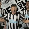 Newcastle United 2017 2018 125th Anniversary PUMA Home Football Kit, Soccer Jersey, Shirt, Maillot, Camiseta