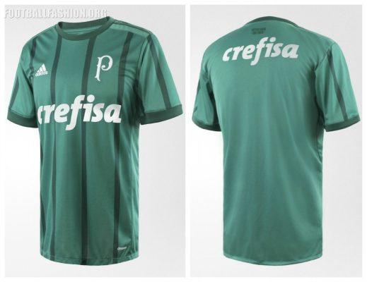 Palmeiras 2017 2018 adidas Home Football Kit, Soccer Jersey, Shirt, Camisa I, Camiseta