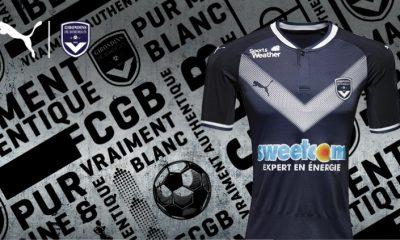 Girondins de Bordeaux 2017/18 PUMA Home Football Kit, Shirt. Soccer Jersey, Maillot