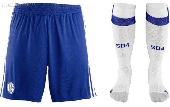 Schalke 04 2017 2018 adidas Away Football Kit, Shirt, Soccer Jersey, Trikot, Auswärtstrikot