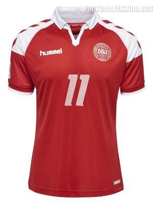 Denmark 2017 EURO 92 25th Anniversary hummel Football Kit Soccer Jersey, Shirt, Danmark Landsholdstrøje, Trøje