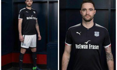 Dundee FC 2017 2018 PUMA Home Football Kit, Soccer Jersey, Shirt