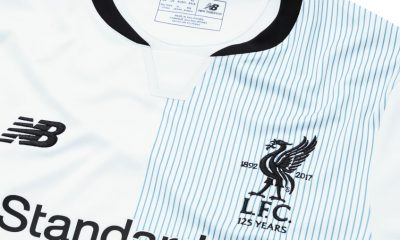 Liverpool FC Special Edition Away Football Kit to Celebrate 125th Anniversary, Soccer Jersey, Shirt, Maillot, Camiseta, Camisa, Trikot, Tenue 2017-18