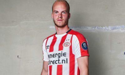 PSV Eindhoven 2017 2018 Umbro Home Football Kit, Soccer Jersey, Shirt, Thusshirt, Tenue