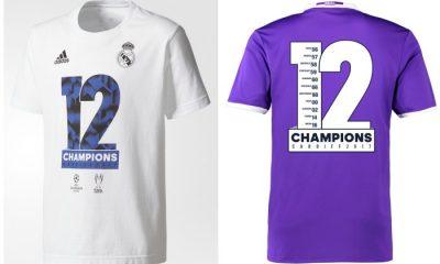 Real Madrid 2017 UEFA Champions Winners adidas Shirts, Soccer Jersey, Football Kit, Camiseta Campeones, Camisa, Trikot, Maillot, Tenue,