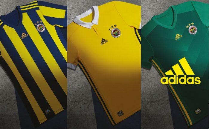 Fenerbahçe 201718 adidas Home, Away and Third Kits