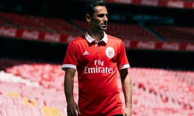 SL Benfica 2017 2018 adidas Red Home Football Kit, Soccer Jersey, Shirt, Camisola, Camisa, Maillot, Camiseta