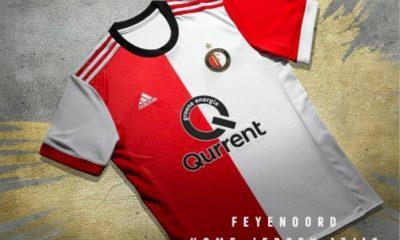 Feyenoord Rotterdam 2017 2018 adidas Home and Away Football Kit, Soccer Jersey, Shirt, Tenue, Thuisshirt, Uitshirt