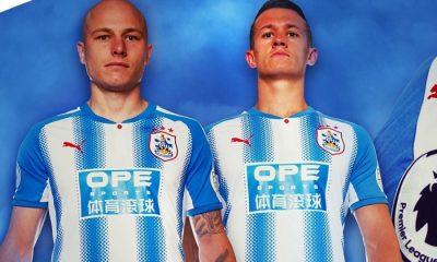 Huddersfield Town 2017 2018 PUMA Home Football Kit, Soccer Jersey, Shirt