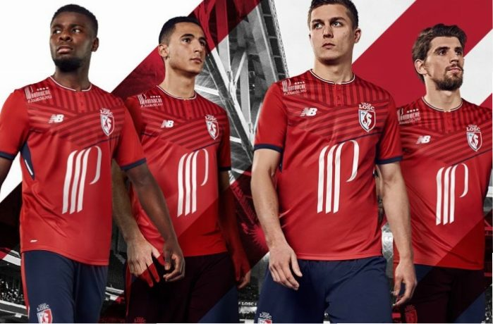 newest 266d8 fb015 Lille OSC 2017/18 New Balance Home, Away and Third Kits ...