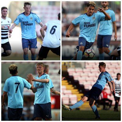 Newcastle United 2017 2018 125th Anniversary PUMA Blue Away Football Kit, Soccer Jersey, Shirt, Maillot, Camiseta, Trikot