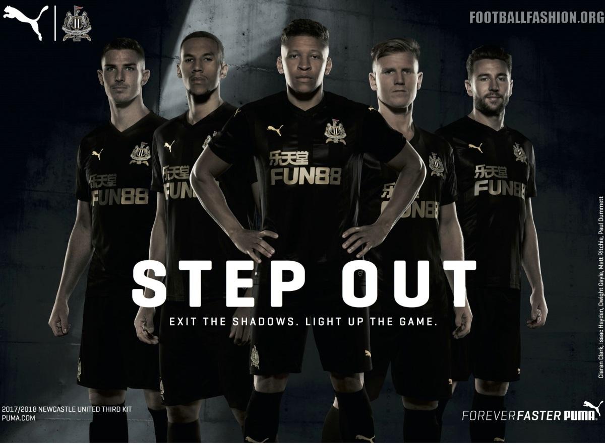 Newcastle United 2017 2018 Puma Third Kit 6 Football