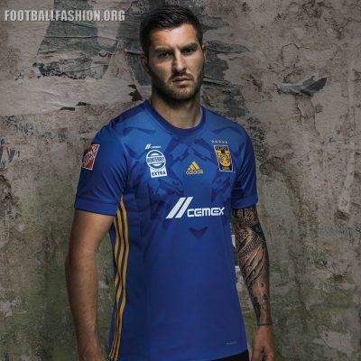 Tigres UANL 2017 2018 adidas Home and Away Soccer Jersey, Shirt, Football Kit, Camiseta de Futbol, Equipacion