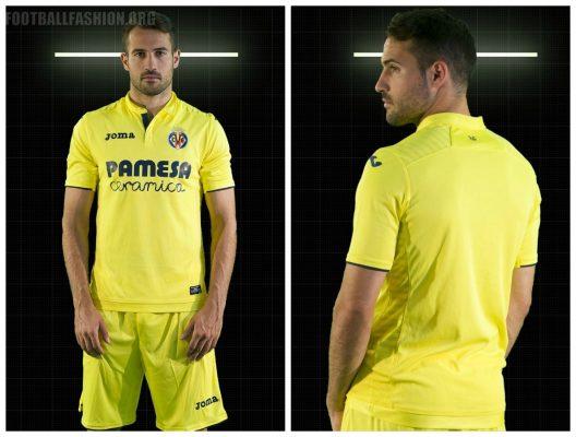 Villarreal CF 2017 2018 Joma Home, Away and Third Football Kit, Soccer Jersey, Shirt, Camiseta de Futbol, Equipacion