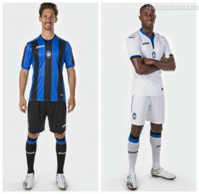 Atalanta BC 2017 2018 Joma Home, Away and Third Football Kit, Soccer Jersey, Shirt, Maglia, Gara, Camiseta, Camisa