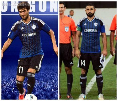 Qarabağ FK 2017 2018 adidas Home, Away and Third Football Kit, Soccer Jersey, Shirt, Camiseta, Gara, Maglia, Equipacion