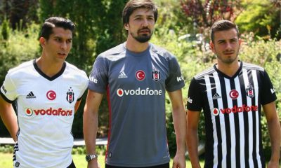 Beşiktaş JK 2017 2018 adidas Home, Away and Third Soccer Jersey, Football Kit, Shirt, Forma, Camisa