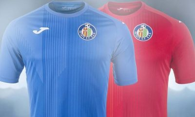 Getafe CF 2017 2018 Joma Home, Away and Third Football Kit, Soccer Jersey, Shirt,. Camiseta de Futbol, Equipacion