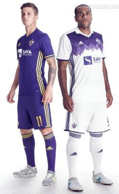 NK Maribor 2017 2018 adidas Home and Away Football Kit, Soccer Jersey, Shirt, Dres