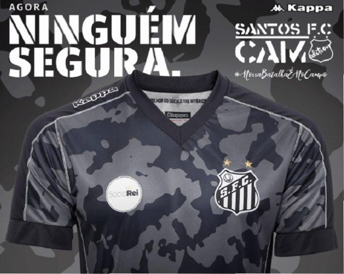 Santos FC 2017 18 Kappa Third Kit – FOOTBALL FASHION.ORG f58bcacb51ae1
