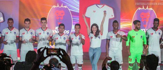 Delhi Dynamos 2017 2018 Home, Away and Third Football Kit, Soccer Jersey, Shirt