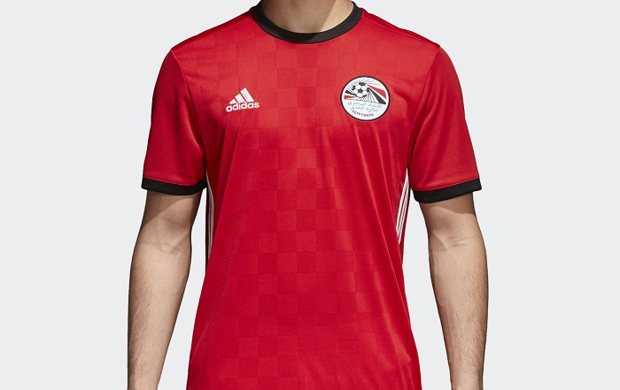 d07f4a5c52b Egypt 2018 World Cup adidas Home Kit - FOOTBALL FASHION.ORG