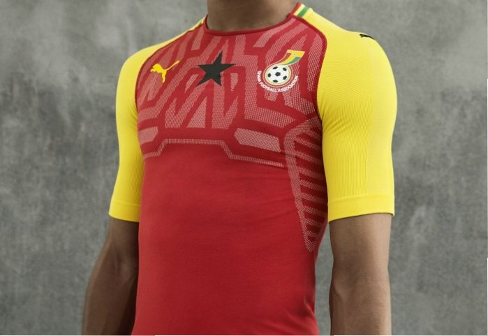 4ed8411c1 Ghana 2018/19 PUMA Home Kit - FOOTBALL FASHION.ORG