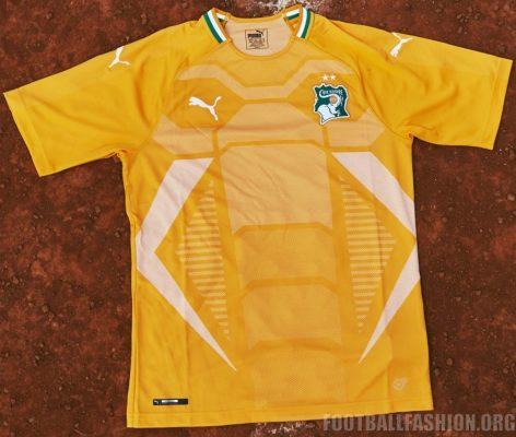Ivory Coast 2018 2019 PUMA Home Football Kit, Soccer Jersey, Shirt, Maillot, Côte d'Ivoire
