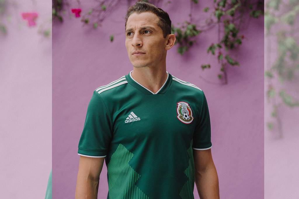Mexico 2018 World Cup adidas Home Jersey - FOOTBALL FASHION