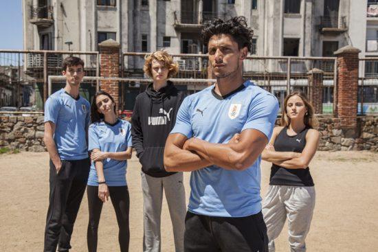 Uruguay 2018 World Cup PUMA Home Football Kit, Soccer Jersey, Shirt, Camiseta de Futbol Mundial, Equipacion