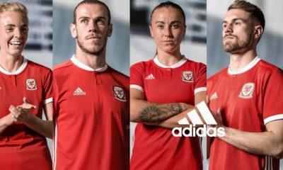 Wales 2018 2019 adidas Home Football Kit, Soccer Jersey, Shirt