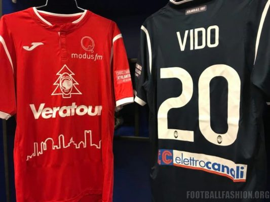 Atalanta BC 2017 Christmas Match Joma Football Kit, Soccer Jersey, Shirt, Maglia, Gara Natale