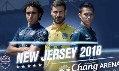 Buriram United 2018 Warrix Home and Away Football Kit, Soccer Jersey, Shirt