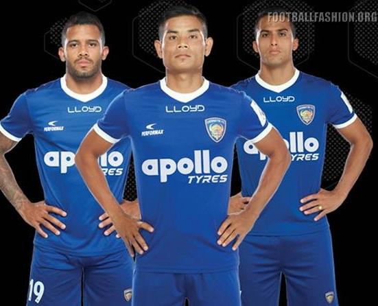Chennaiyin FC 2017 2018 Home and Away Football Kit, Soccer Jersey, Shirt