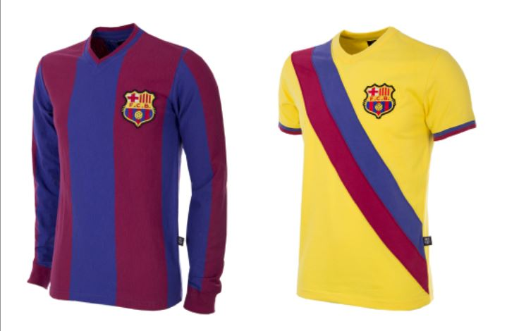 FC Barcelona x COPA 2018 Retro Kits – FOOTBALL FASHION.ORG 5490e5e7944a