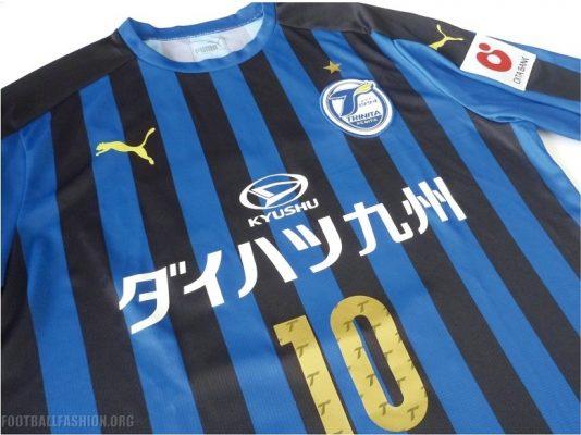 Oita Trinita 2018 PUMA Home and Away Football Kit, Soccer Jersey, Shirt