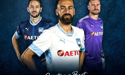 Sydney FC 2018 PUMA AFC Champions League Football Kit, Soccer Jersey, Shirt