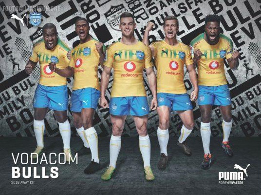 Bulls Rugby Unveil Soccer-Inspired 2018 PUMA Away Kit, Shirt, Jersey