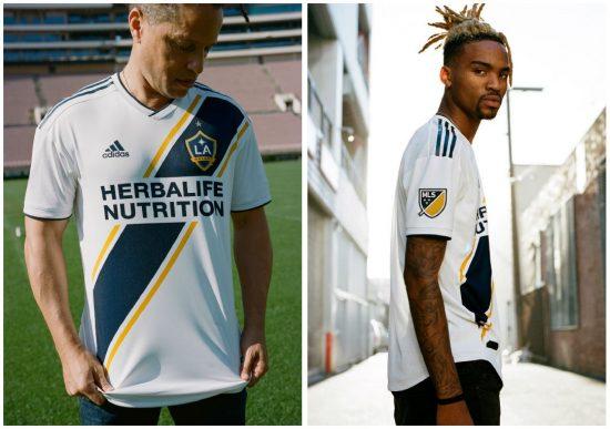 LA Galaxy 2018 adidas Home Soccer Jersey, Shirt, Football Kit, Camiseta de Futbol, Equipacion