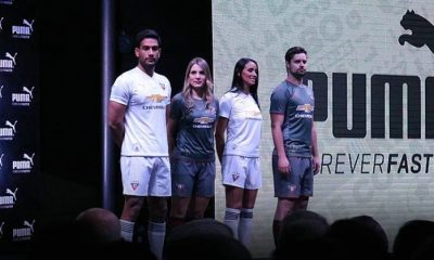 Liga de Quito 2018 PUMA Home and Away Football Kit, Soccer Jersey, Shirt, Camiseta de Futbol