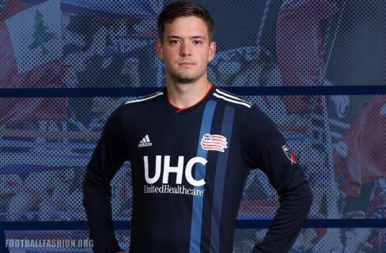 New England Revolution 2018 2019 adidas Home Soccer Jersey, Football Kit, Shirt, Camiseta de Futbol