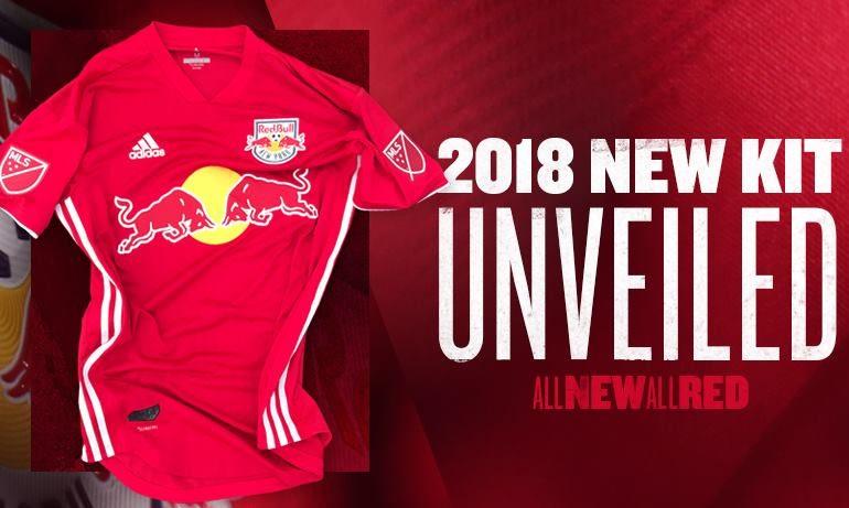 best website 3d592 1d14e New York Red Bulls 2018 adidas Red Jersey - FOOTBALL FASHION.ORG