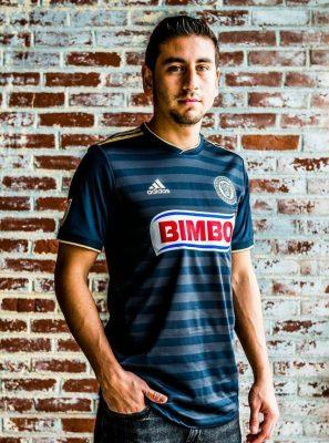 Philadelphia Union 2018 adidas Home Soccer Jersey, Football Kit, Shirt, Camiseta de Futbol