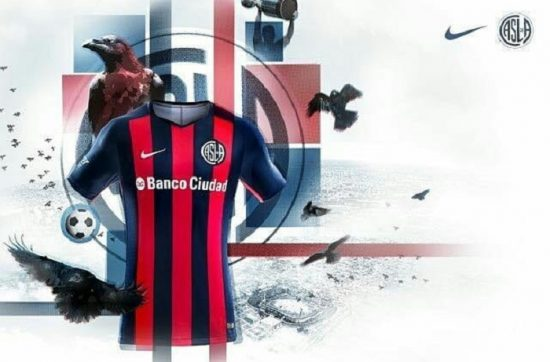 San Lorenzo 2018 Nike Home and Away Football Kit, Soccer Jersey, Shirt, Camiseta de Futbol