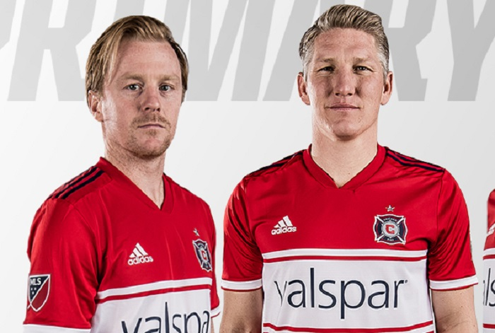 Chicago Fire 2018 adidas Home Jersey FOOTBALL FASHION.ORG